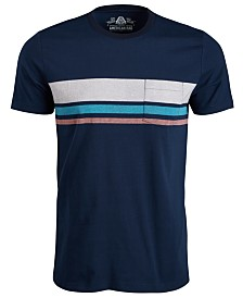 American Rag Men's Striped Chest Pocket T-Shirt, Created for Macy's