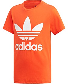 adidas Originals Big Boys Trefoil Graphic T-Shirt