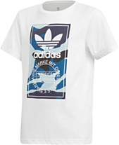 34f9cd51c adidas Originals Big Boys Camo-Print Logo T-Shirt