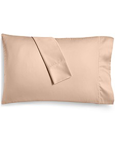 Open Stock Solid Cotton 400 Thread Count Pillowcase, Standard, Created for Macy's
