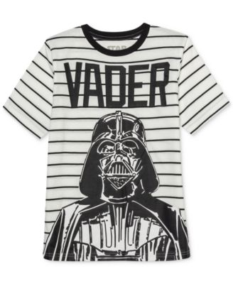 Big Boys Darth Vader Influencer Stripe T-Shirt