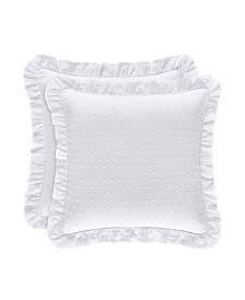 "Piper & Wright Lena 18"" Square Pillow"