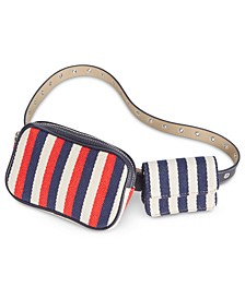 Nautical Double Belt Bag