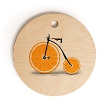 Deny Designs Vitamin Round Cutting Board