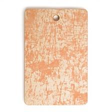 Crackle Batik Peach Rectangle Cutting Board