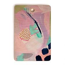 Blush Leopard Rectangle Cutting Board
