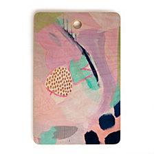 Deny Designs Laura Fedorowicz Blush Leopard Rectangle Cutting Board