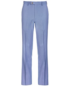 Big Boys Stretch Blue Suit Pants