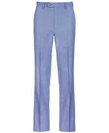 Lauren Ralph Lauren Big Boys Stretch Blue Suit Pants