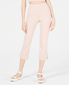 Juniors' Cropped Flare-Leg Pants, Created for Macy's