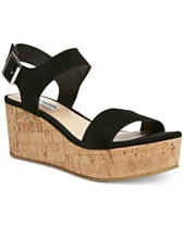 97b9d30cec1 Steve Madden Women s Breathe Flatform Wedges