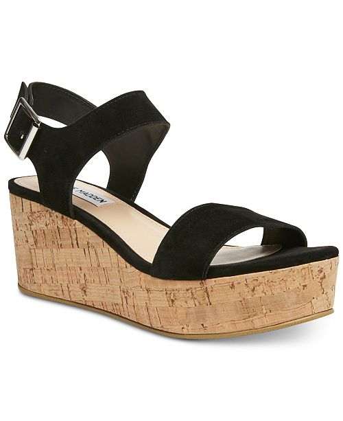 Steve Madden Women's Breathe Flatform Wedges