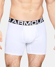 Under Armour Men's 2-Pk. Charged Cotton® Boxer Briefs