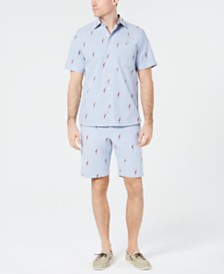Tommy Bahama Men's Parrot Shorts & Shirt