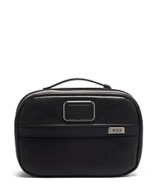 Tumi Alpha 3 Leather Split Travel Kit