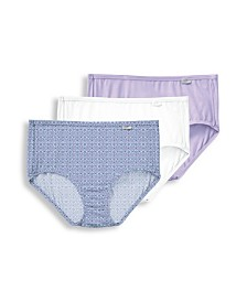 Jockey Elance Supersoft 3 Pack Cotton Brief Underwear 2073