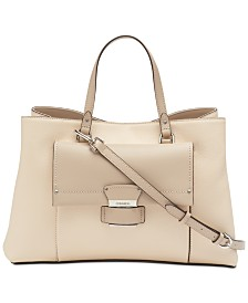 Calvin Klein Delancy Top Handle Satchel