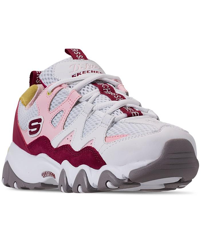 Skechers Women's D'Lites 2.0 Walking Sneakers from Finish ...