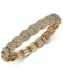 INC Pavé Stretch Bracelet, Created for Macy's