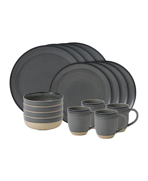 ED Ellen Degeneres Crafted by Royal Doulton Brushed Glaze 16 Pc Dinnerware Set