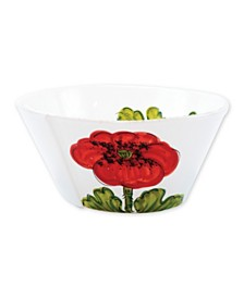 Vietri Lastra Poppy Large Stacking Serving Bowl