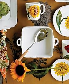 Vietri Lastra Sunflower Collection