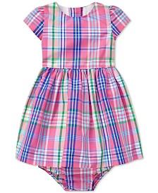 Polo Ralph Lauren Baby Girls Tartan Dress