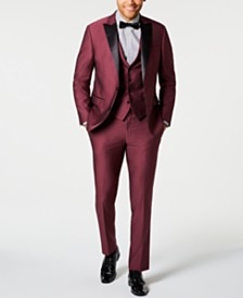 Ryan Seacrest Distinction™ Men's Slim-Fit Stretch Tuxedo Suit Separates, Created for Macy's
