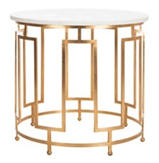 Caldwell Marble Accent Table, Quick Ship