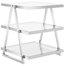 Sterling 3-Tier End Table, Quick Ship