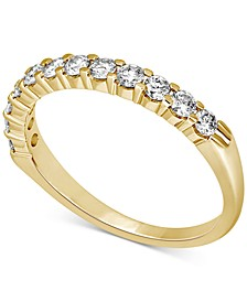 Diamond Band (1/2 ct. t.w.) in 14k White, Yellow or Rose Gold