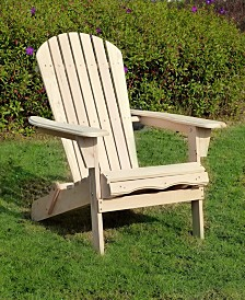 Adirondack Chair Kit with Pull-out Ottoman