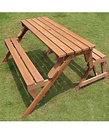 Interchangeable Picnic Table