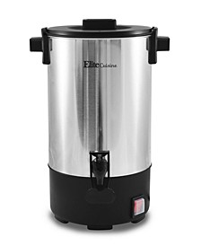 Elite Cuisine Stainless Steel 30 cup Coffee Urn
