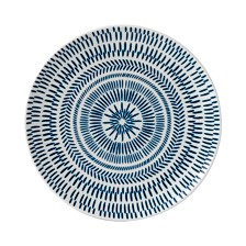 Crafted by Royal Doulton Cobalt Blue Chevron Side Plate