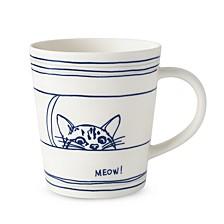 Crafted by Royal Doulton Cat Mug