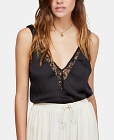 Free People All In My Head Lace-Detail Camisole
