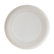 Crafted by Royal Doulton Taupe Stripe Serving Platter