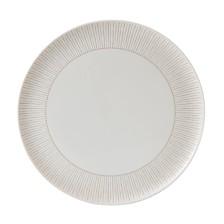 ED Ellen DeGeneres Crafted by Royal Doulton Taupe Stripe Serving Platter