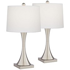 Metal Table Lamps - Set of 2