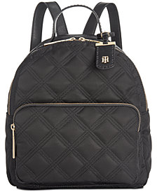Tommy Hilfiger Julia Quilted Nylon Dome Backpack