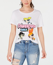Warner Brothers Juniors' Powerpuff Girls T-Shirt