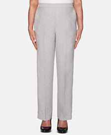 Alfred Dunner Petite Versailles Pull-On Pants