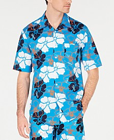 Men's Camp Collar Graphic Shirt, Created for Macy's