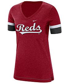 Nike Women's Cincinnati Reds Tri-Blend Fan T-Shirt