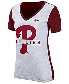 Women's Philadelphia Phillies Dri-FIT Touch T-Shirt