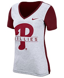 Nike Women's Philadelphia Phillies Dri-FIT Touch T-Shirt