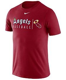 Nike Men's Los Angeles Angels Dri-Fit Practice T-Shirt