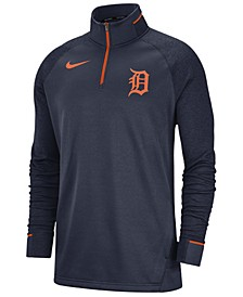 Men's Detroit Tigers Dry Game Elite Quarter-Zip Pullover