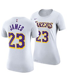 Nike Women's LeBron James Los Angeles Lakers Player T-Shirt